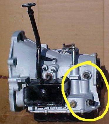Fixation latérale inexistante sur BVA A604_310