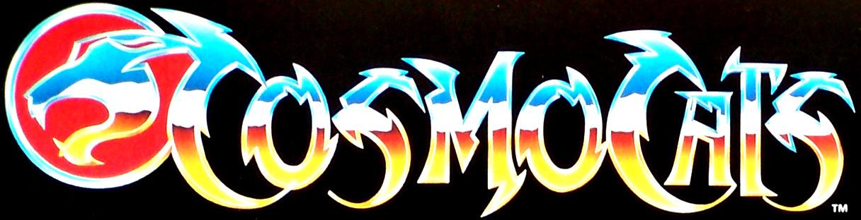 Cosmocats / Thundercats (LJN / ALES) 1985-1987 Logo-c10