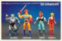 Cosmocats / Thundercats (LJN / ALES) 1985-1987 Back-b28