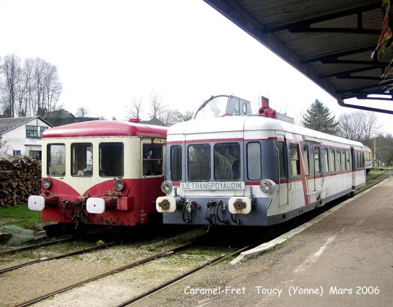 train touristique de Puisaye-Forterre Toucy [89] Tm_0110