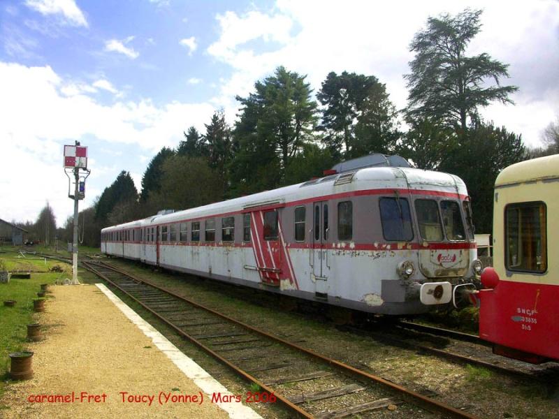 train touristique de Puisaye-Forterre Toucy [89] Tm_0310