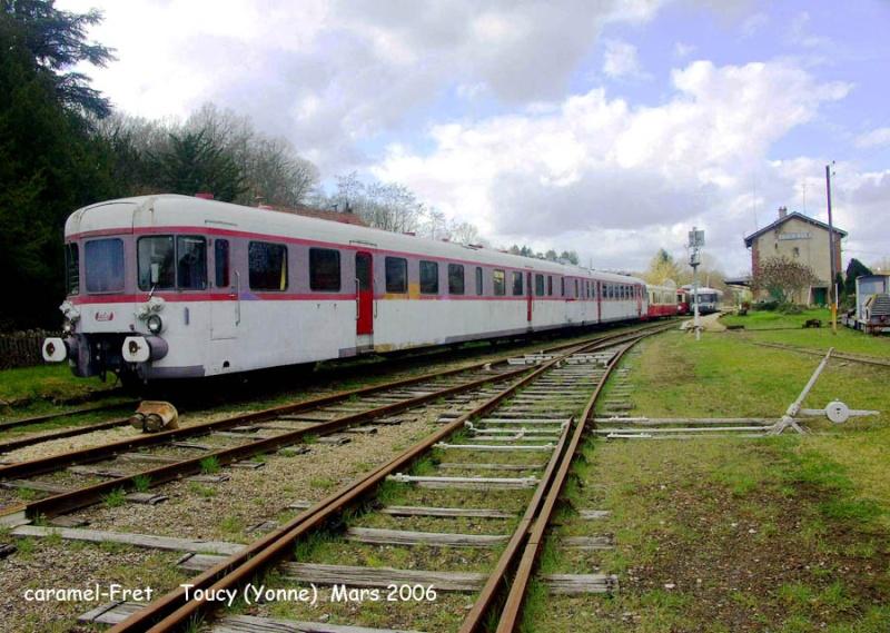 train touristique de Puisaye-Forterre Toucy [89] Tm_0410