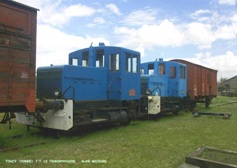 train touristique de Puisaye-Forterre Toucy [89] Tm_0510