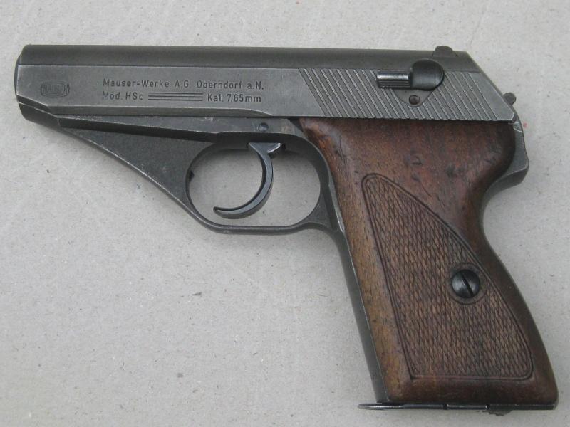 Mauser HSc français Mauser14