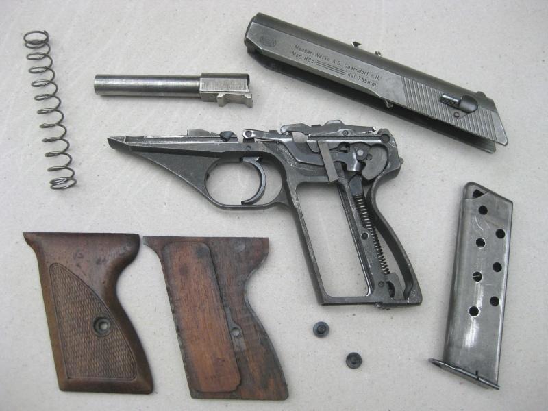 Mauser HSc français Mauser18