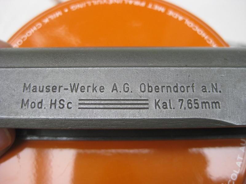 Mauser HSc français Mauser21