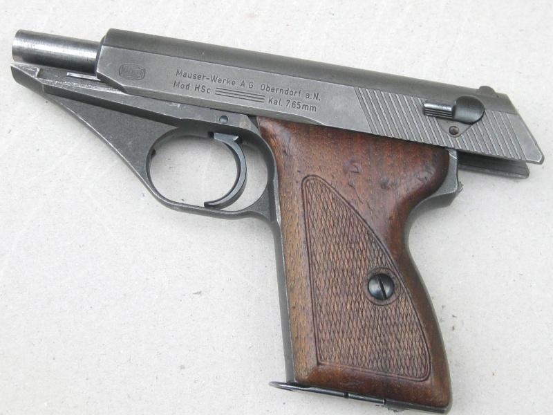Mauser HSc français Mauser34