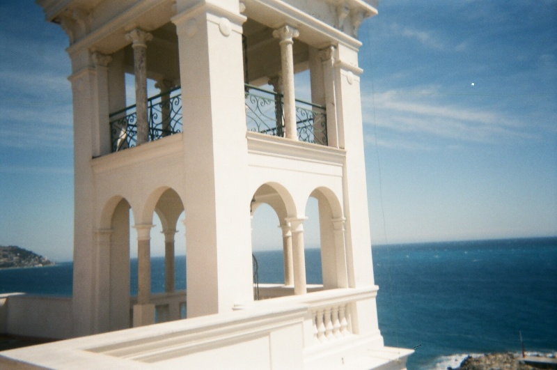 Sur la Riviera Italienne, un architecte français... 00490014
