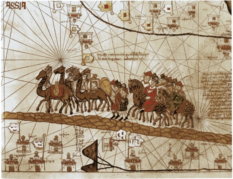 Vie de Marco Polo d'Alvise Zorzi - Page 3 Carava10