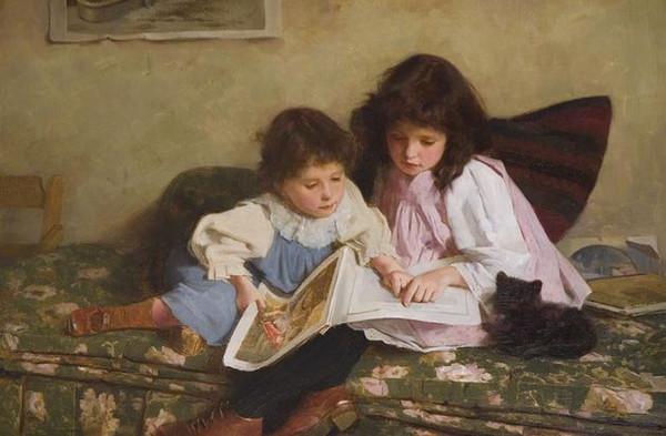 Petit, petit deviendra grand. L'enfance dans la peinture. De3baa10