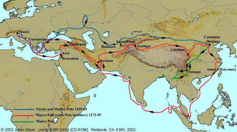 Vie de Marco Polo d'Alvise Zorzi Marcop10