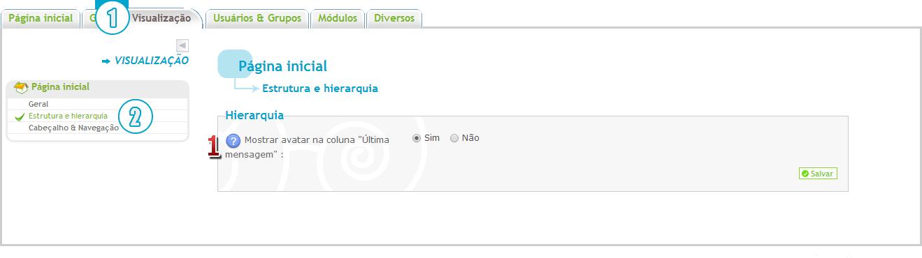 """[FAQ] Exibir avatar na coluna """"Última mensagem"""" no fórum Acp10"""