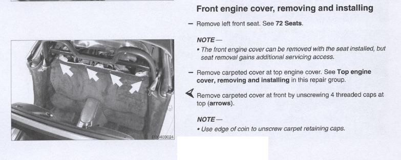 Démontage habillage entre habitacle et moteur Cover11