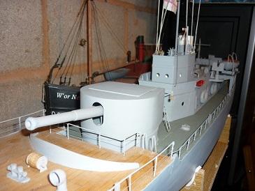 HMS Bulwark 25ft Motor Cutter Deans Marine P1020310