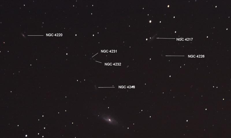 """Petit """"Best Of"""" d'astro M106cr10"""