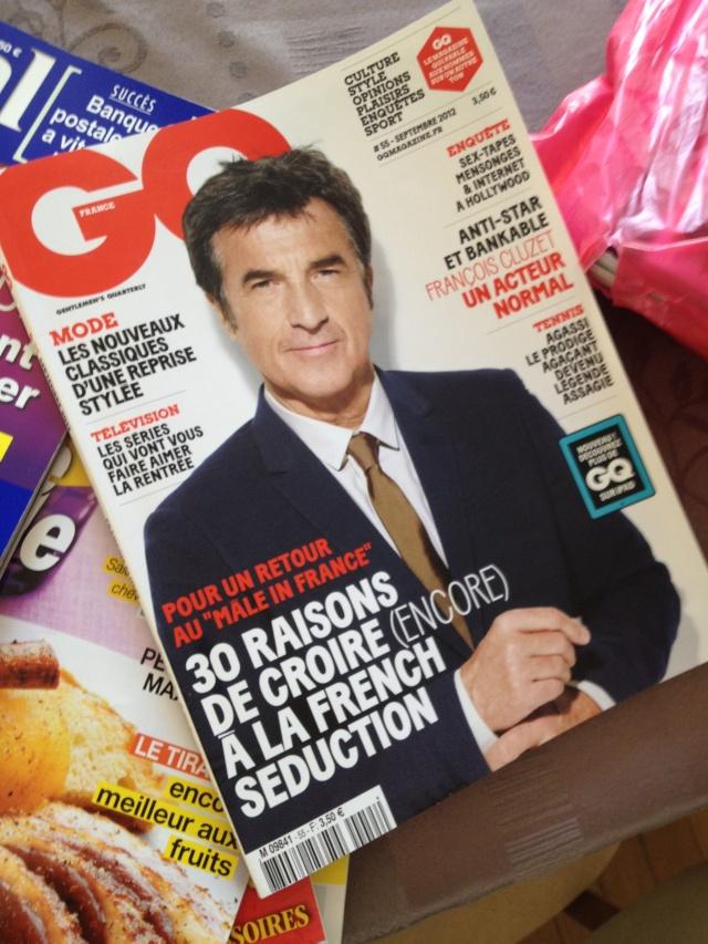 GQ magazine et VOSTOK Img_5311