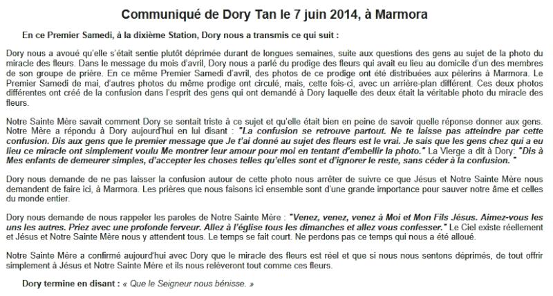 Communiqué de Dory Tan - 7 juin 2014 ! Captur11