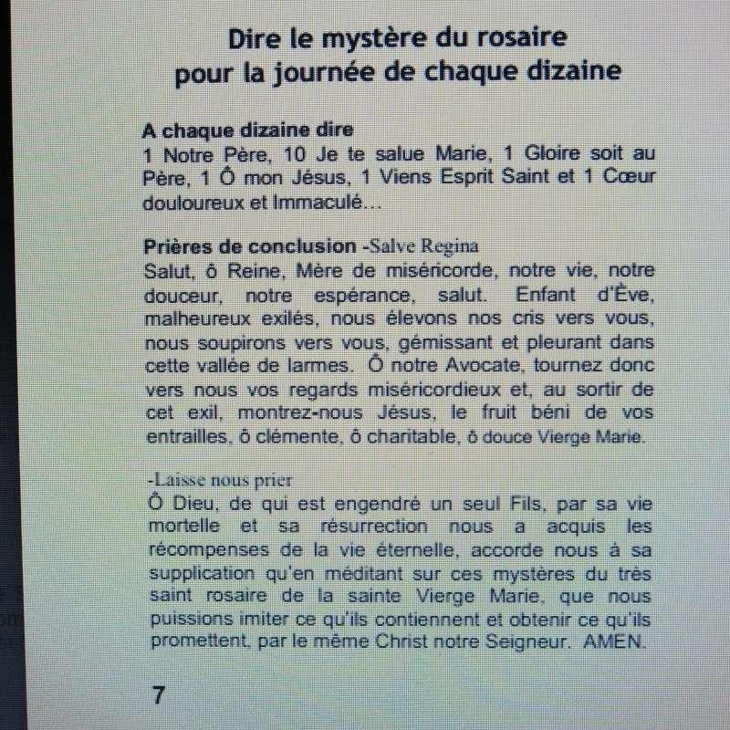 Comment sauver notre Âme - Une Requête de la Vierge Marie à Dory Tan ! Commen19