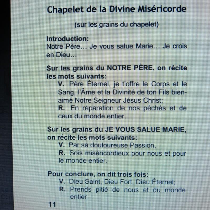 Comment sauver notre Âme - Une Requête de la Vierge Marie à Dory Tan ! - Page 2 Commen23