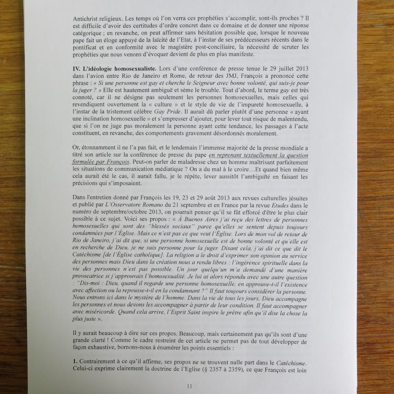 L'étrange Pontificat du Pape François - Un commentaire de Miles Christi ! - Page 2 Img_1432