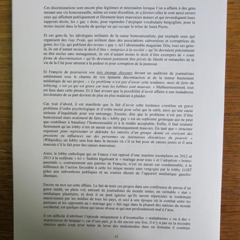 L'étrange Pontificat du Pape François - Un commentaire de Miles Christi ! - Page 2 Img_1518