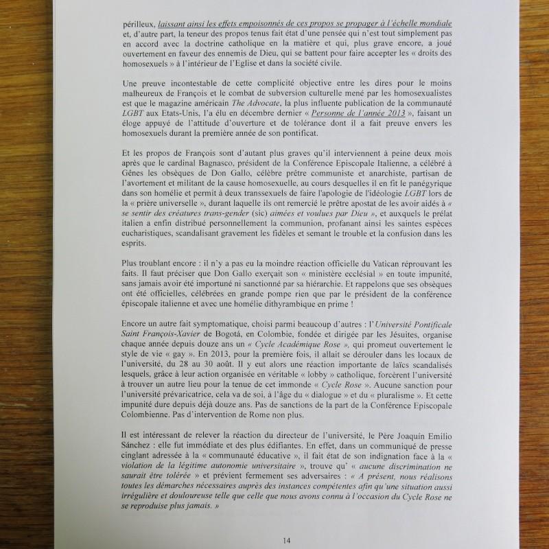 L'étrange Pontificat du Pape François - Un commentaire de Miles Christi ! - Page 2 Img_1519