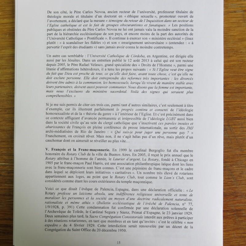 L'étrange Pontificat du Pape François - Un commentaire de Miles Christi ! - Page 2 Img_1520