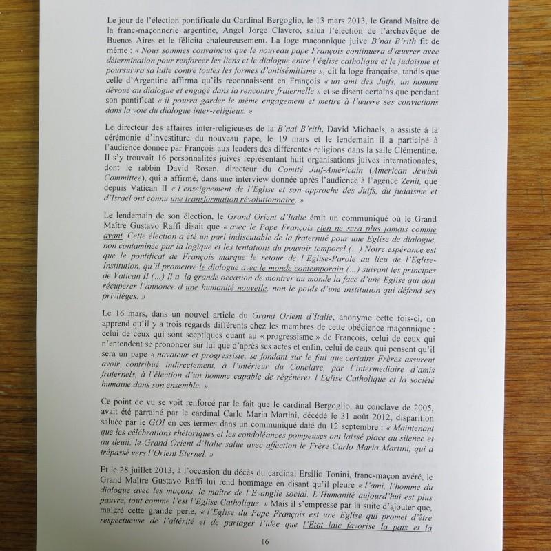 L'étrange Pontificat du Pape François - Un commentaire de Miles Christi ! - Page 2 Img_1521