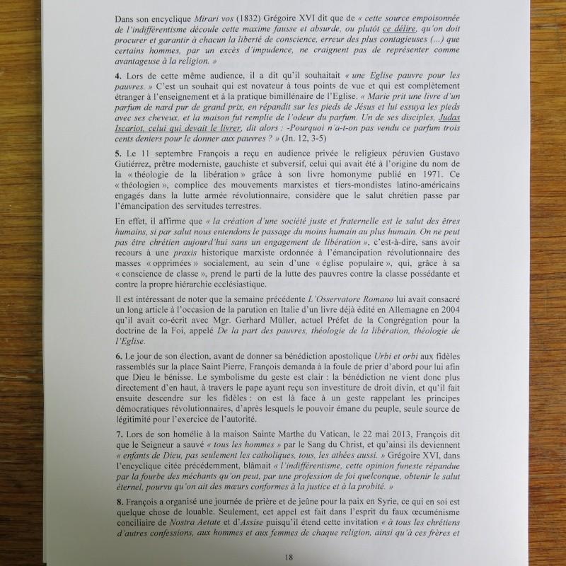 L'étrange Pontificat du Pape François - Un commentaire de Miles Christi ! - Page 2 Img_1523