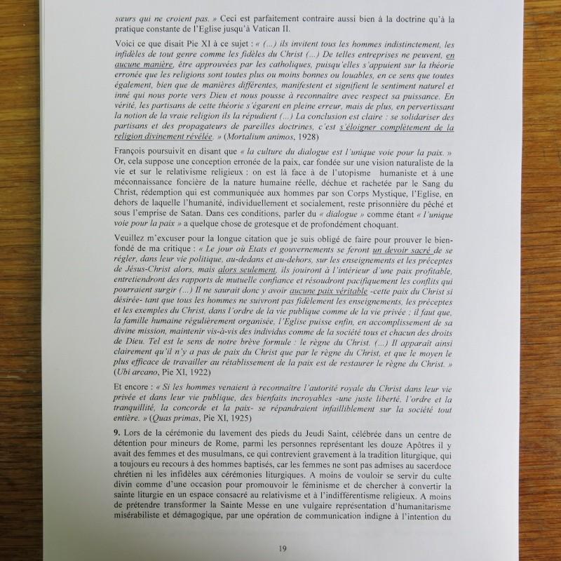 L'étrange Pontificat du Pape François - Un commentaire de Miles Christi ! - Page 2 Img_1524