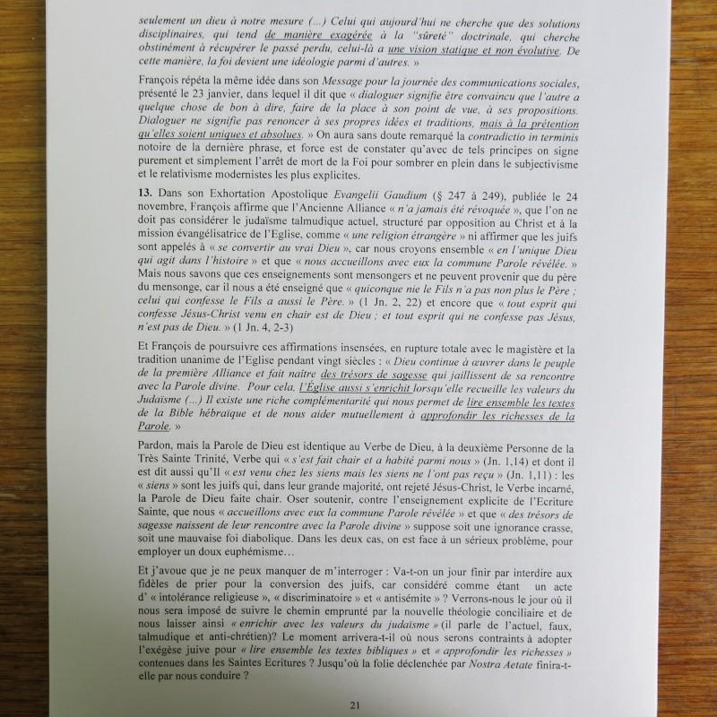 L'étrange Pontificat du Pape François - Un commentaire de Miles Christi ! - Page 3 Img_1526