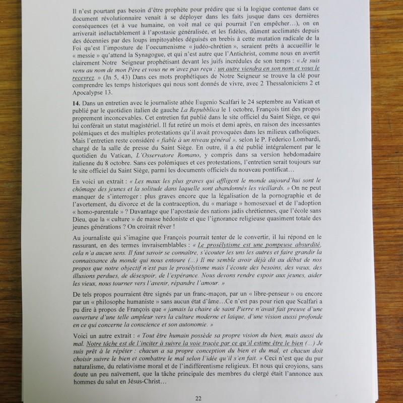 L'étrange Pontificat du Pape François - Un commentaire de Miles Christi ! - Page 3 Img_1527
