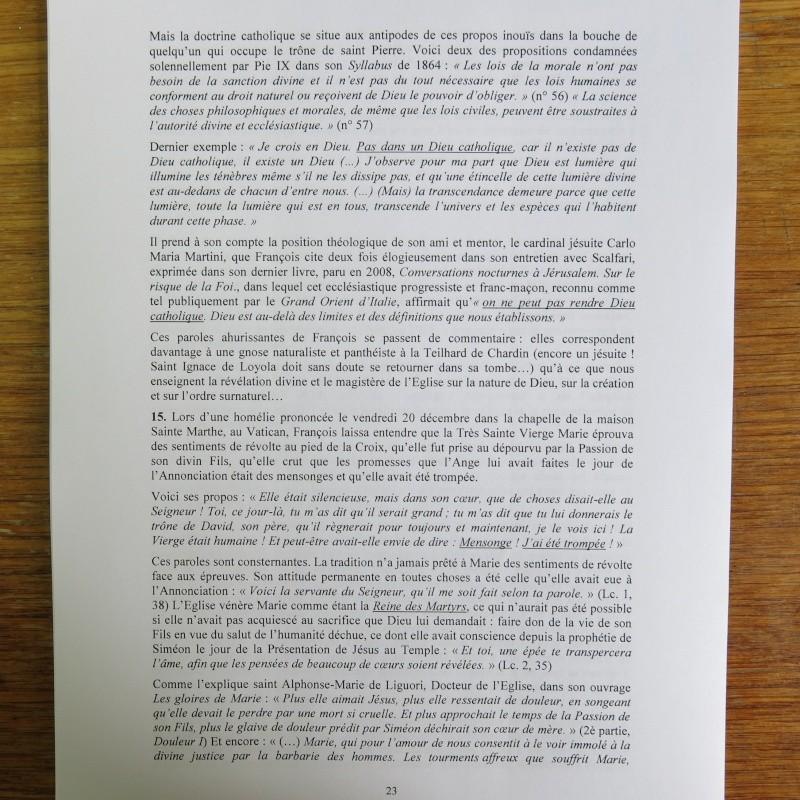 L'étrange Pontificat du Pape François - Un commentaire de Miles Christi ! - Page 3 Img_1528