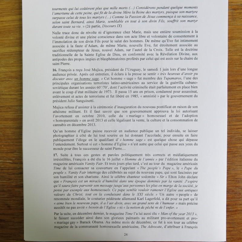 L'étrange Pontificat du Pape François - Un commentaire de Miles Christi ! - Page 3 Img_1529