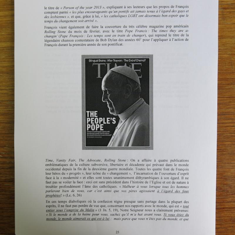 L'étrange Pontificat du Pape François - Un commentaire de Miles Christi ! - Page 3 Img_1530