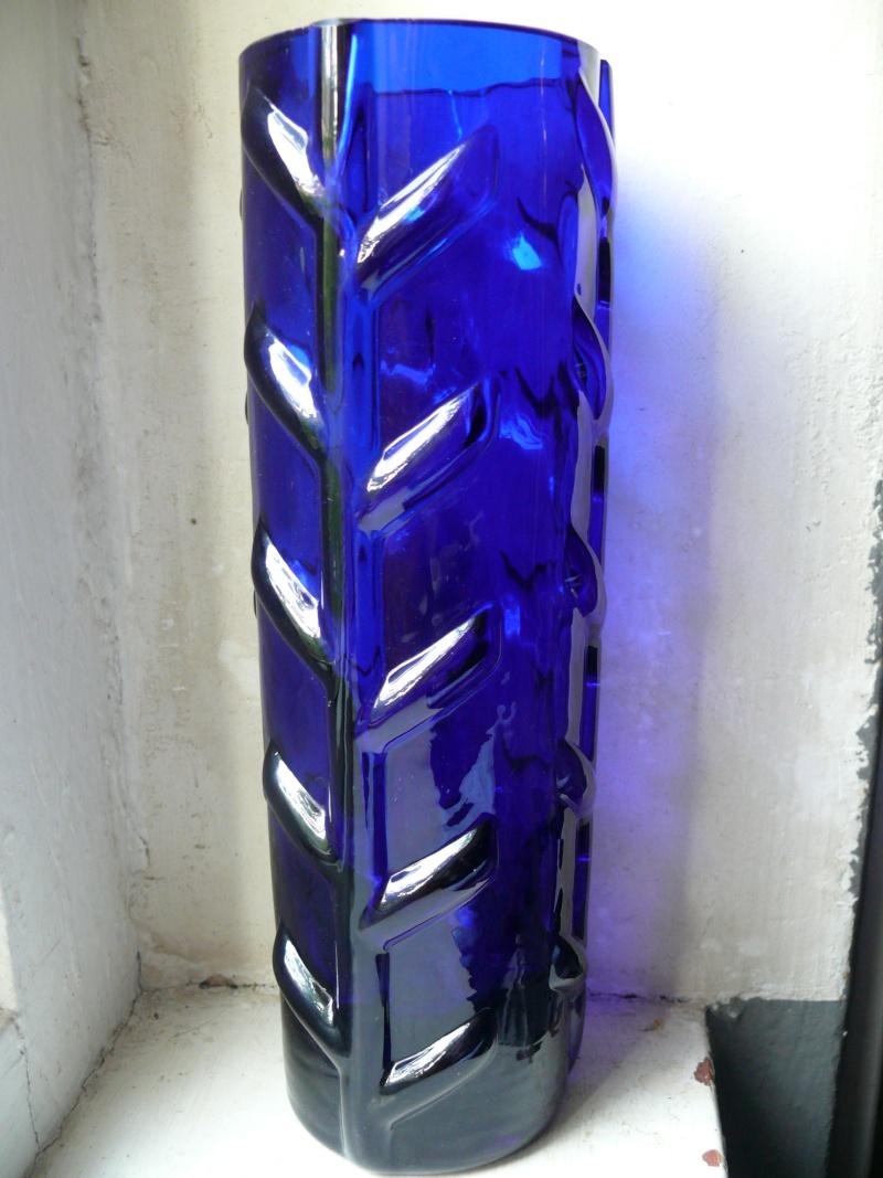 moulded blue vase P1350031