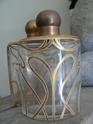 art nouveau bottles in leather box P1350014
