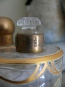 art nouveau bottles in leather box P1350015