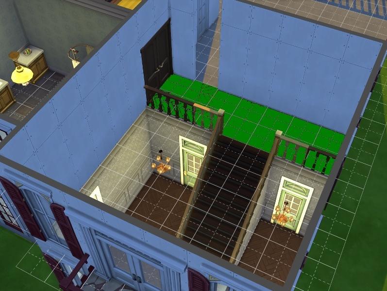 Construction : Mettre un sol mais pas dans toute la pièce. 14-09-10