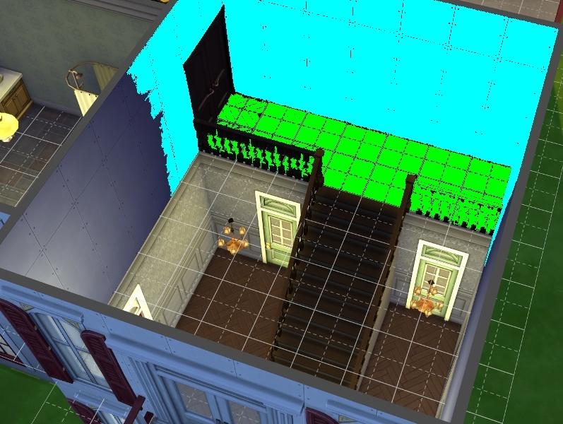 Construction : Mettre un sol mais pas dans toute la pièce. 14-09-12