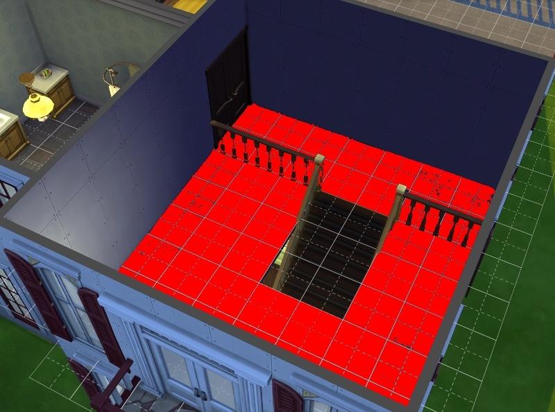 Construction : Mettre un sol mais pas dans toute la pièce. 14-09-13