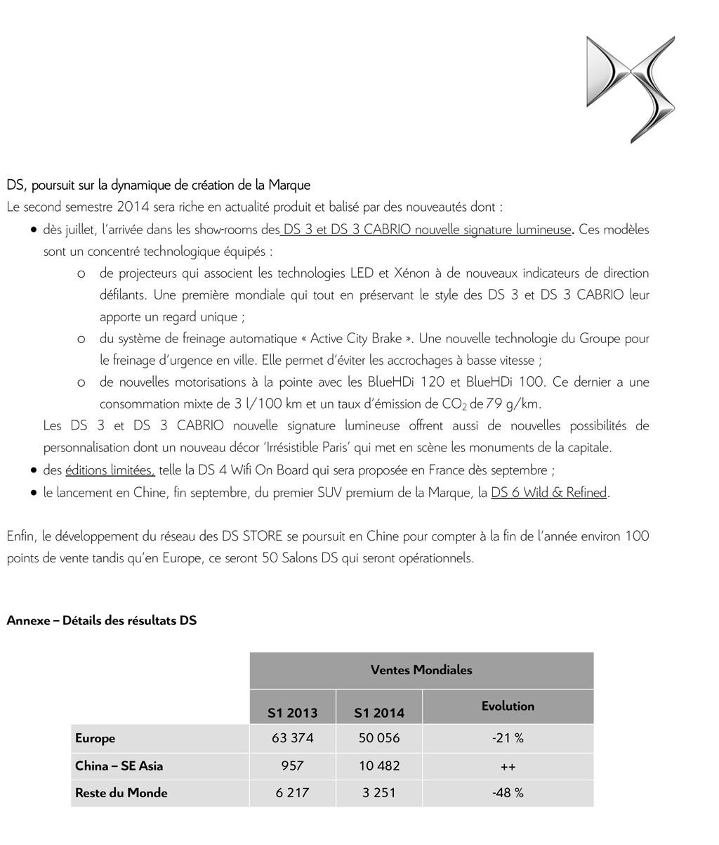 [VENTE] Résultats commerciaux 2014 Cp_ds_14