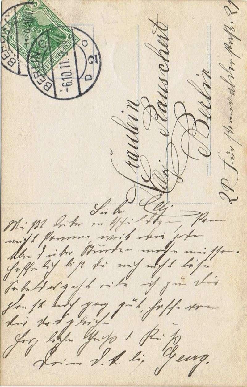 Deutsches Reich 1900 bis Mai 1919 - Germaniazeichnung 1911_110