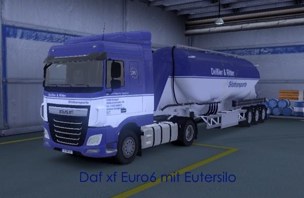 Deißler & Ritter - virtuelle Spedition für den ETS 2 Daf_eu10