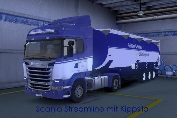 Deißler & Ritter - virtuelle Spedition für den ETS 2 Scania10