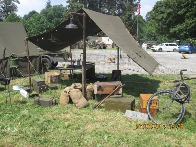 reconstitution camps américain 40-45 à Gerpinnes Img_1415