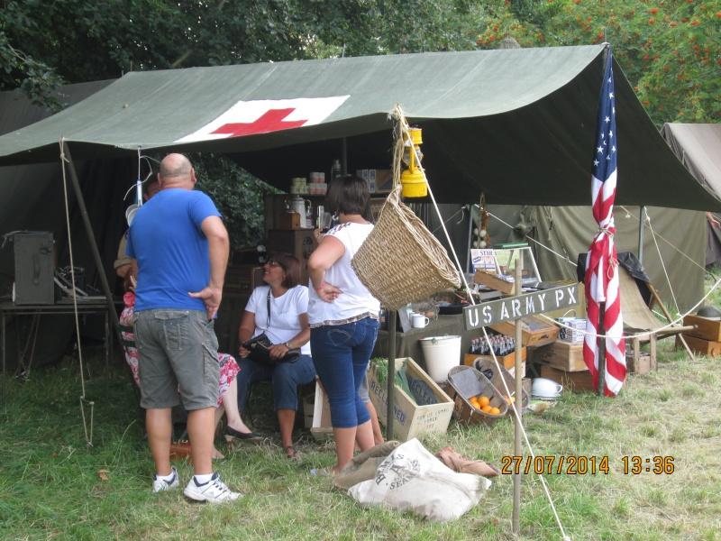 reconstitution camps américain 40-45 à Gerpinnes Img_1430