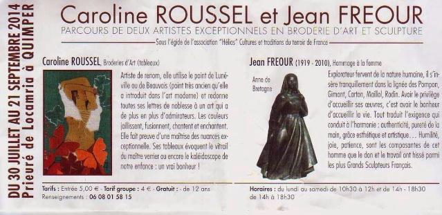 Exposition Caroline Roussel/ Jean Fréour 1_1_1515
