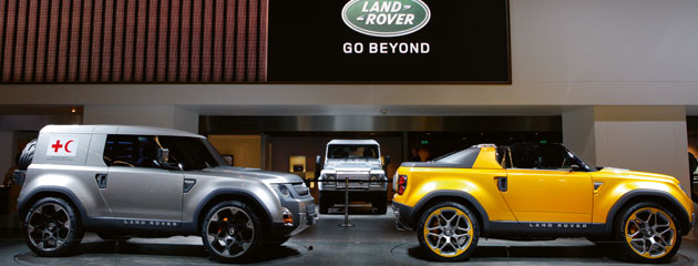 The future of Land Rover? Starts10