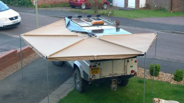 Which fox-wing awning should I buy? Tuff-t10